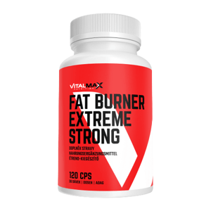 Vitalmax Nutrition Fat Burner Extreme Strong 120 kapsúl