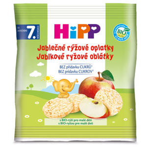 HiPP BIO Oblátky Jablkovo ryžové 30g