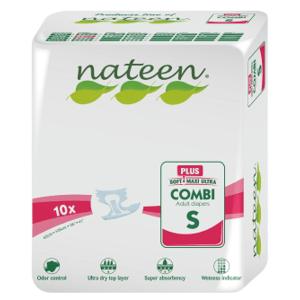 Nateen,Plienky inkontinenčné Inko Combi Plus S,10ks