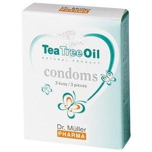 Dr. Müller Tea Tree Oil KONDOM 3 ks