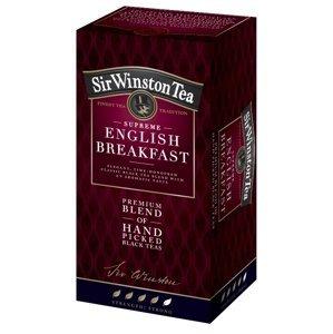 Sir Winston Tea ENGLISH BREAKFAST čierny čaj 20x1,8 g