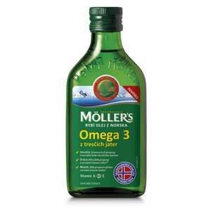 MOLLER´S Omega 3 RYBÍ OLEJ Natur z pečene tresiek 250 ml