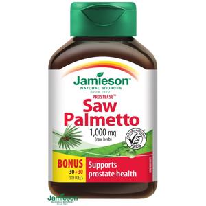 Jamieson Prostease™ Saw Palmetto 125mg na prostatu 60 kapsúl