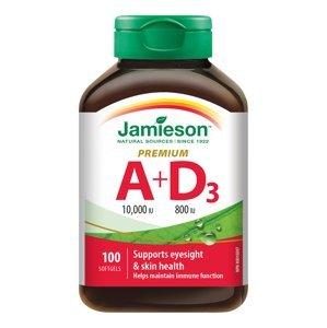 Jamieson Vitamín A a D Premium 10000IU/ 800IU 100 kapsúl