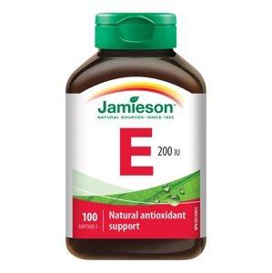 Jamieson Vitamín E 200IU 100 kapsúl