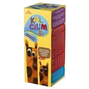 KALCIUM-D Glenmark sirup 150ml