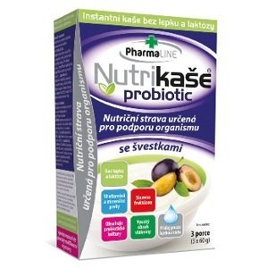 Nutrikaša probiotic - so slivkami 3x60 g