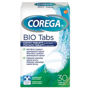 COREGA Bio antibakteriálne čistiace tablety 30ks