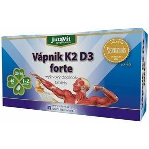 JutaVit Vápnik K2 D3 forte tbl 1x60 ks