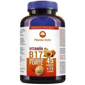 Pharma Activ Amygdalin Forte Vitamín B17 tbl 45+15 zdarma
