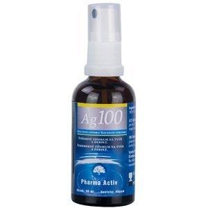 Koloidné striebro Ag100 40ppm sprej 50 ml