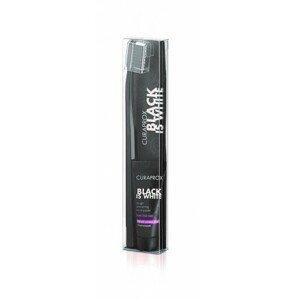 CURAPROX Black is White Light-Pack zubná pasta 8 ml + zubná kefka