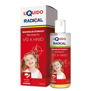 LiQuido RADICAL pri výskyte vší a hníd 125 ml + (hrebienok a čiapka zadarmo)