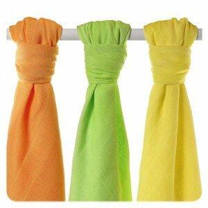 XKKO BMB Colours 70x70 - MIX Lime, Lemon, Orange ( 3ks)