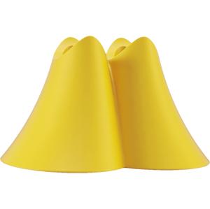 Promis stojan na kefku duo žltý 1ks