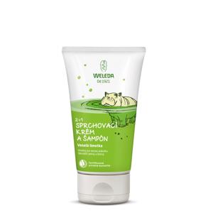 WELEDA 2 v 1 sprchovací krém a šampón Veselá limetka 150ml