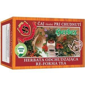 HERBEX ČAJ NA CHUDNUTIE bylinný čaj 20x3g