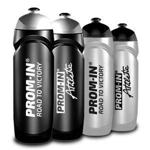 Športová fľaša PROM-IN Athletic - čierna 750 ml