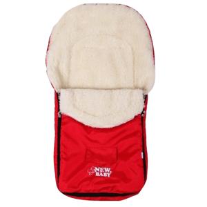 New Baby Zimný fusak Classic Wool red