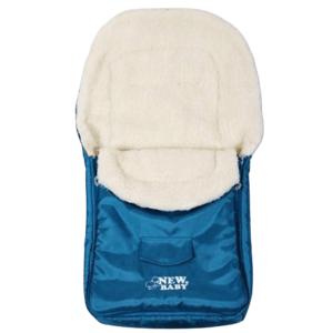 New Baby Zimný fusak Classic Wool turquise