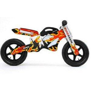 Detské odrážadlo-bicykel Milly Mally GTX Požiarnici