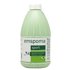 """EMSPOMA Regeneračná """"Z"""" - zelená masážna emulzia 1000 ml"""