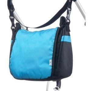 Taška na kočík CARETERO - turquoise