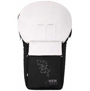 Luxusný fleecový fusak New Baby čierny
