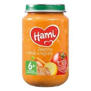 Hami príkrm Zelenina s morkou a paradajkami 200 g
