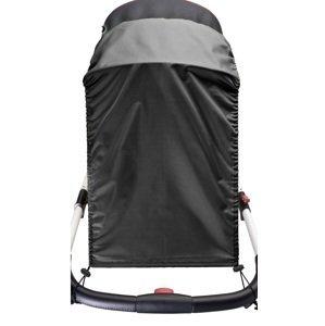 Slnečná clona na kočík CARETERO black