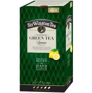 Sir Winston Tea GREEN TEA Lemon zelený čaj 20x1,75 g