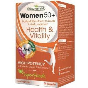 WOMEN 50+ Multinutrient + Superfoods 30 kapsúl