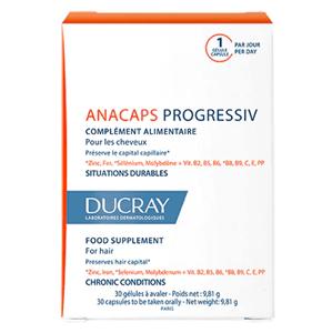 Ducray Anacaps Progressiv Výživový doplnok pre vlasy 30 ks