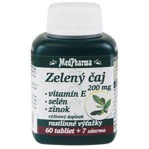 MedPharma Zelený čaj 200mg 60+7tbl zadarmo
