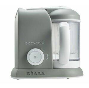 Parný varič + mixér BABYCOOK SOLO šedý
