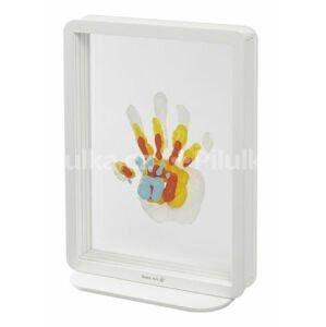 Rámček Superposed Handprints White