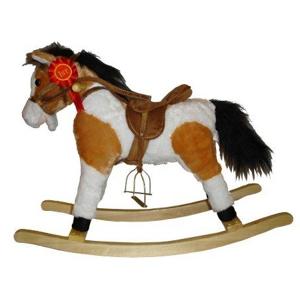 Hojdací koník Milly Mally Jurášek svetlo hnedý