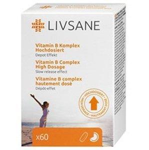 LIVSANE Vitamín B komplex s postupným uvoľňovaním 60tbl