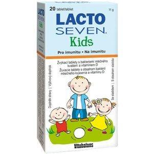 LACTOSEVEN KIDS žuvacie tablety 20 ks