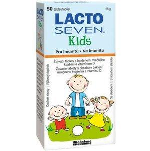 LACTOSEVEN KIDS žuvacie tablety 50 ks