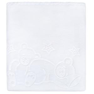 Detská deka Womar 90x80 biela