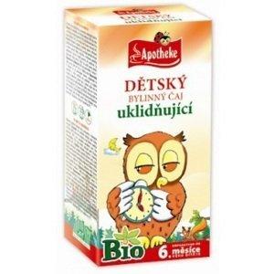 Apotheke Bio detský bylinný čaj ukľudňujúci 20x1,5g