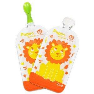 Kapsička na jedlo Papoo Original Lion 6 ks