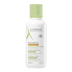 A-Derma Exomega Control Emolienčný krém pre suchú kožu so sklonom k atopii 400ml