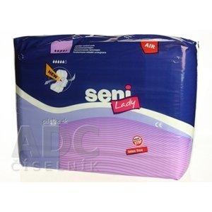 Seni Lady AIR SUPER VLOŽKY anatomické urologické vložky pre ženy savosť 780 ml 15 ks