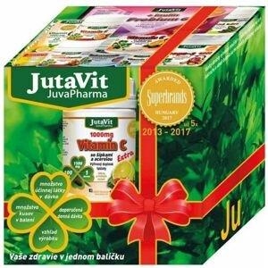 JutaVit pre deti Darčekové balenie 4 druhy výživových doplnkov + Dernored cream na ošetrenie pokožky 100 g, 1x1 set