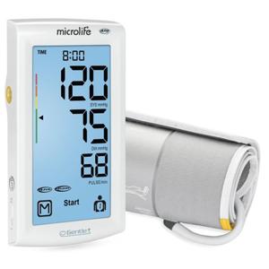 Microlife Tlakomer digitálny BP A7 AFIB Touch automatický na rameno s dotykovým displejom + sieťový