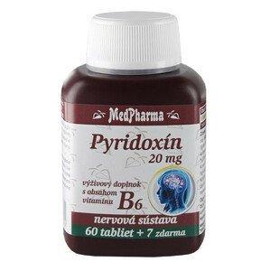 MedPharma Pyridoxín 20mg 60+7tbl zadarmo