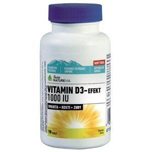 Swiss NatureVia Vitamin D3 - EFEKT 1000 I.U. 90 tabliet