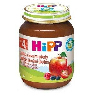HiPP Príkrm ovocný Jablká s lesnými plodmi 125 g